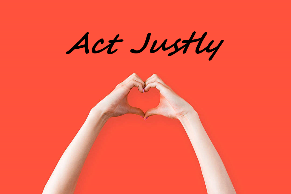 Act Justly – Locally